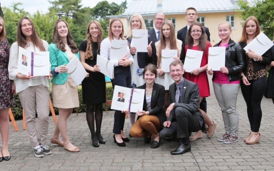 Seventeen Lithuanian students received The Duke of Edinburgh's International Awards at British Embassy in Vilnius