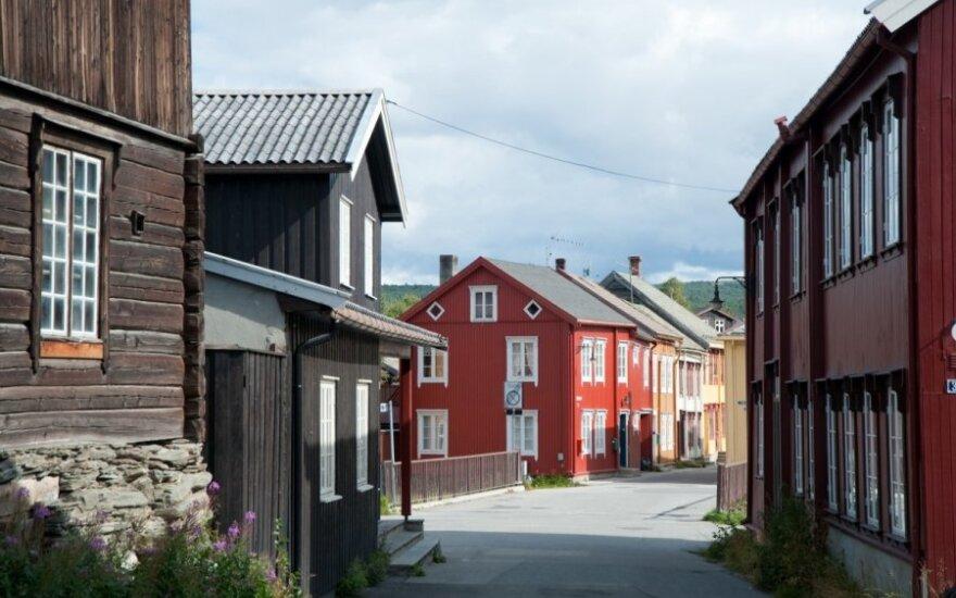 Į Norvegiją vykęs vyriškis pasibaisėjo pasieniečio reakcija