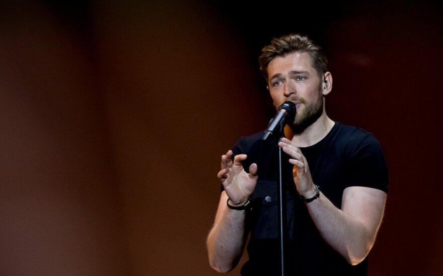 Antrasis Eurovizijos pusfinalis: Lietuva – Jurijus Veklenko