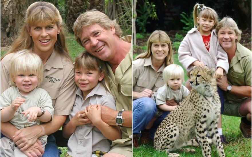 Steve'o Irwino šeima