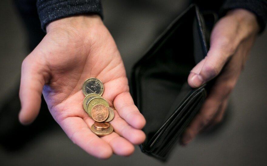 Nefinansinių įmonių pajamos per metus augo