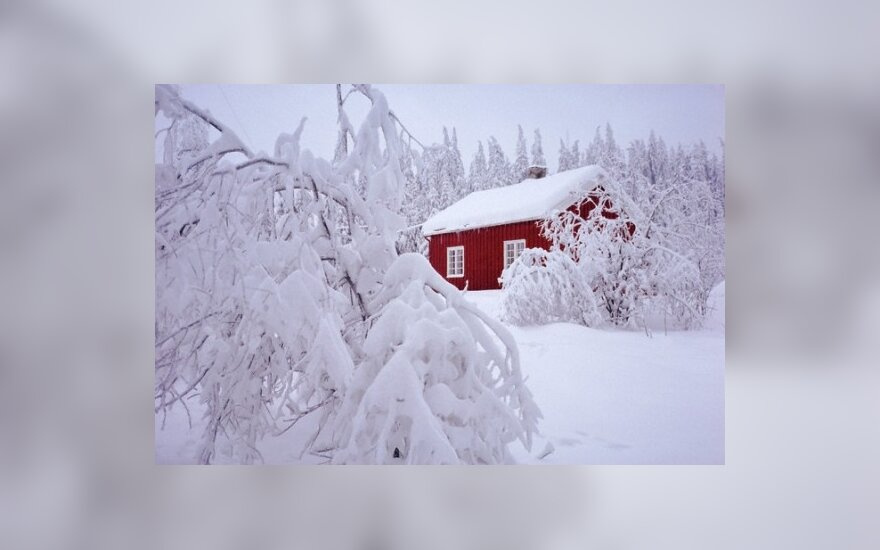 Gausus sniegas sujaukė Europos gyvenimą