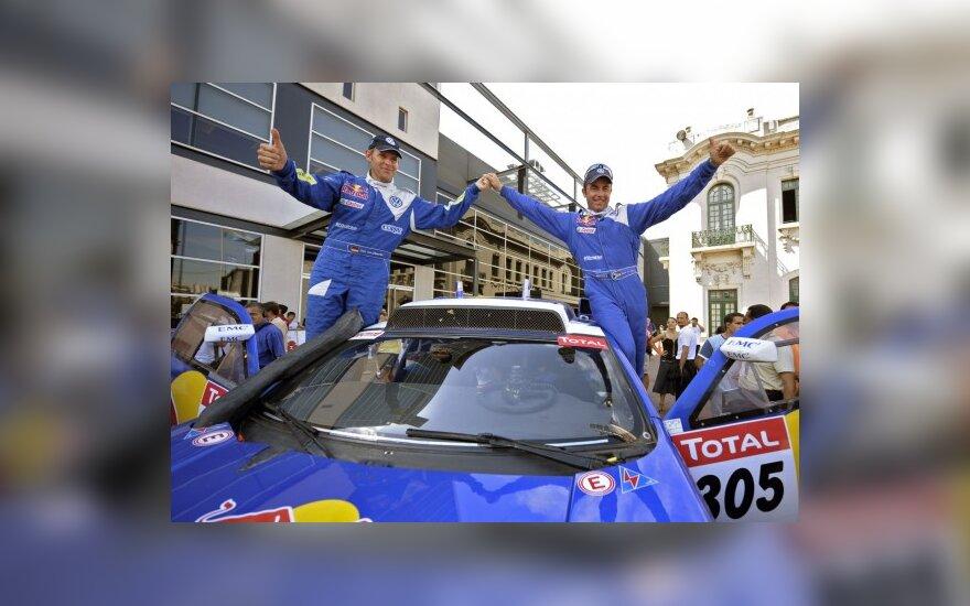 Dakaro ralyje A.Petraičio ir A.Juknevičiaus ekipažas finišavo 26-as