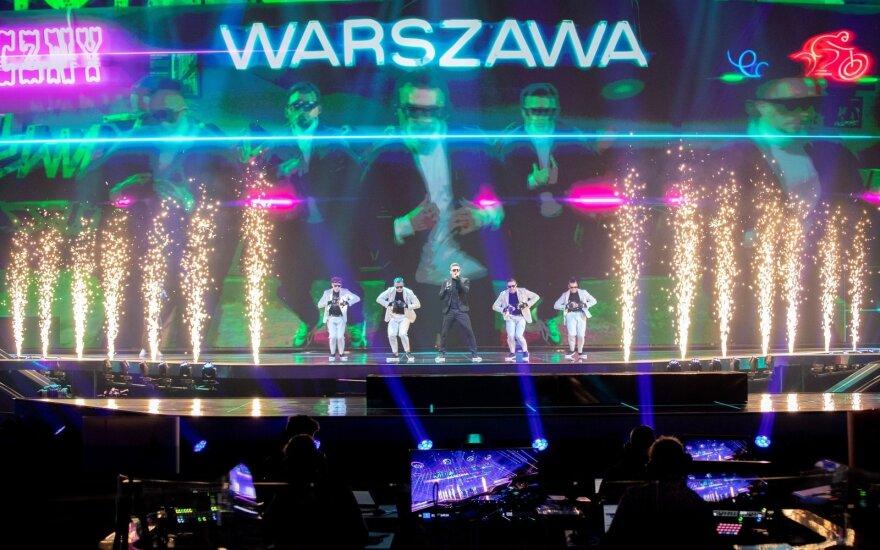 """Lenkijos atstovai """"Eurovizijoje"""" / Foto: EBU / ANDRES PUTTING"""