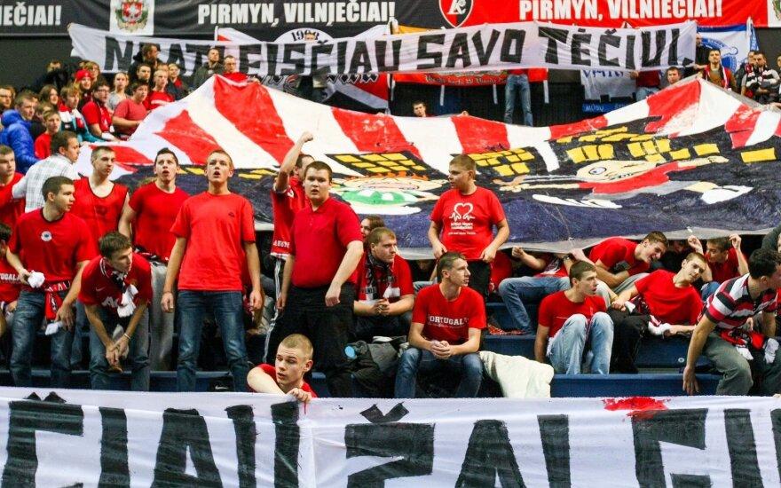 """Vilniaus """"Lietuvos ryto"""" fanai"""