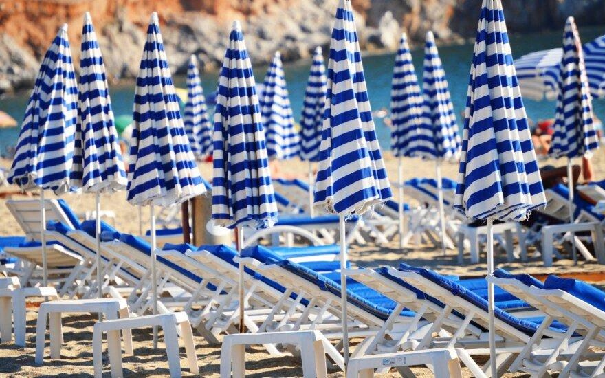 Tingias atostogas besirenkančių lietuvių skaičius pastebimai auga