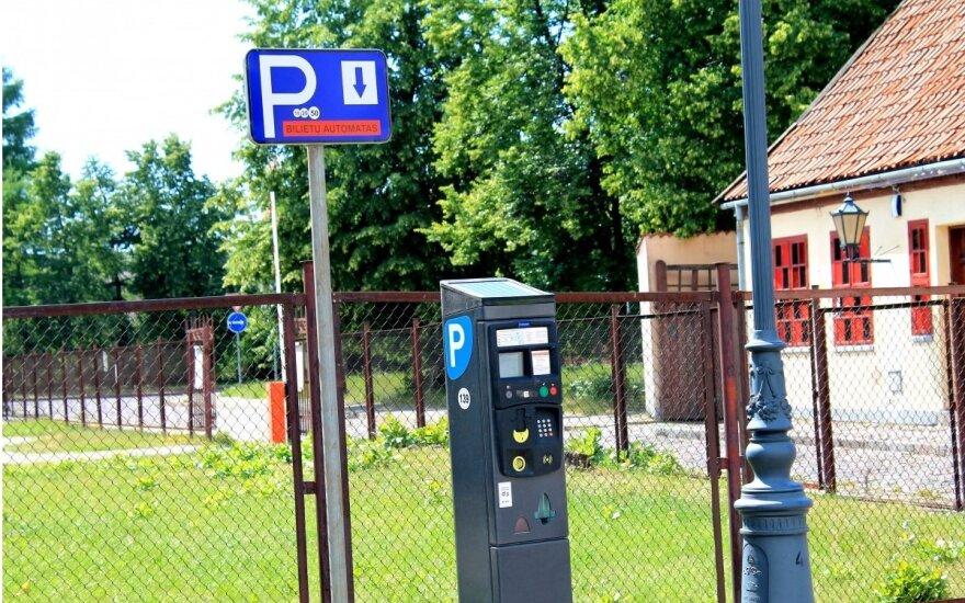 Automobilių stovėjimo aikštelė Klaipėdoje