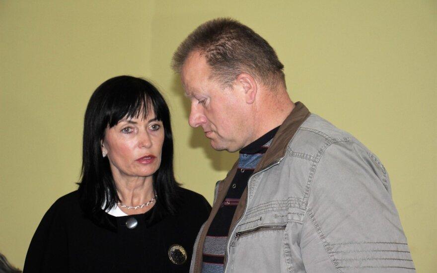 Arvydas Komskis teisme