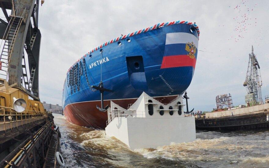 Ar varžybas dėl Arkties jau laimėjo Rusija?