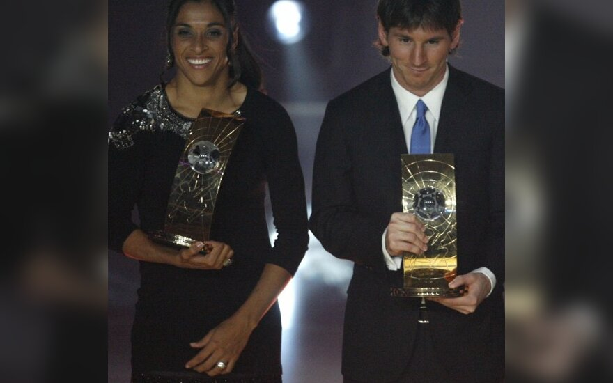 Marta ir Lionelis Messi