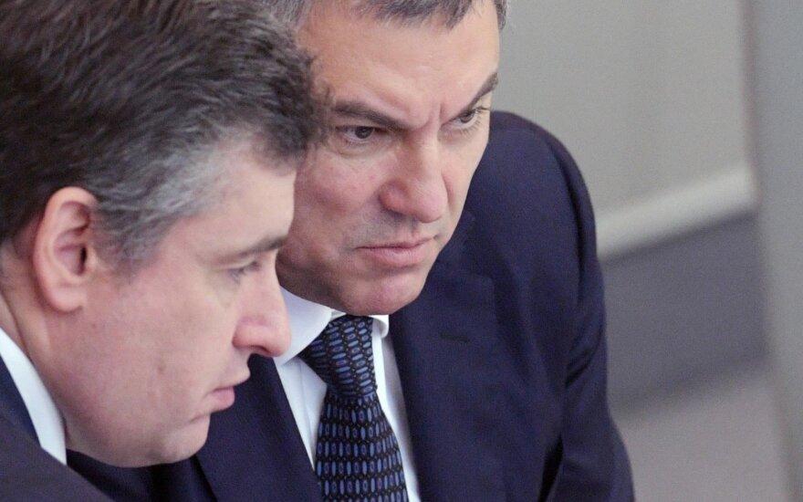 Viačeslavas Volodinas (dešinėje)