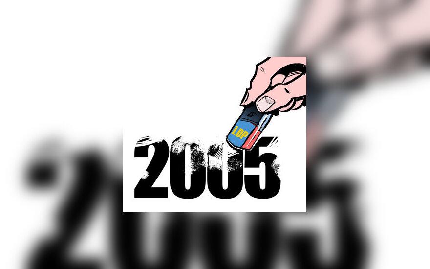 Trintukas, 2005, LDP - karikatūra