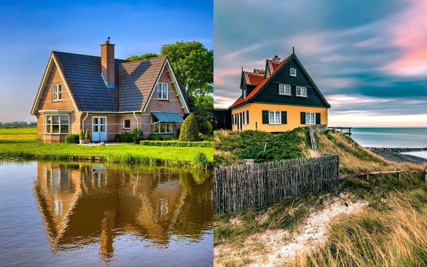 Lietuvoje nesustoja augti susidomėjimas sodybomis ir būstu pajūryje – kaip apsaugoti savo turtą nuo gaisro bei ilgapirščių, jei tai – tik vasarnamis?