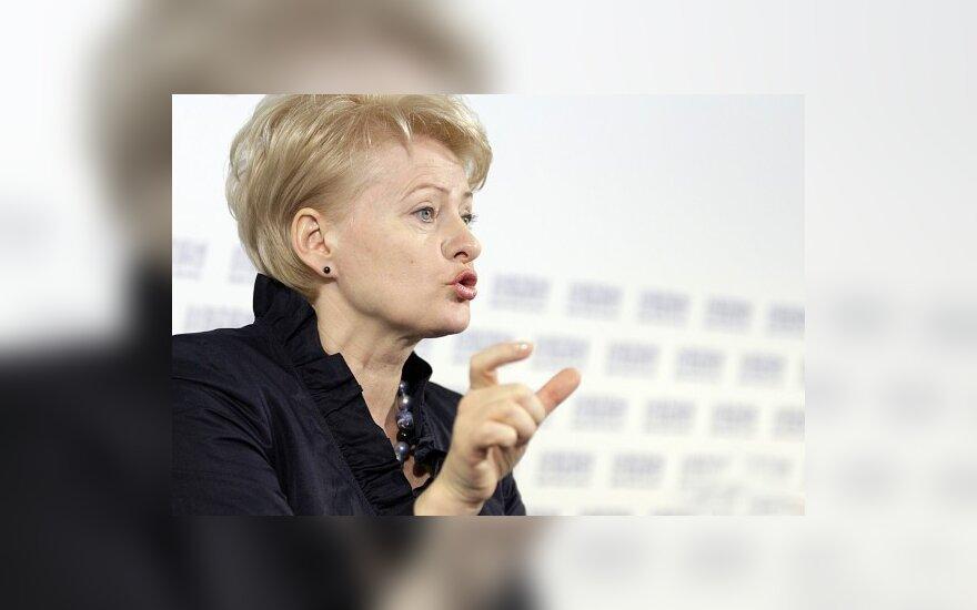 D.Grybauskaitė sieks Nepilnamečių apsaugos nuo neigiamo informacijos poveikio įstatymo pataisų