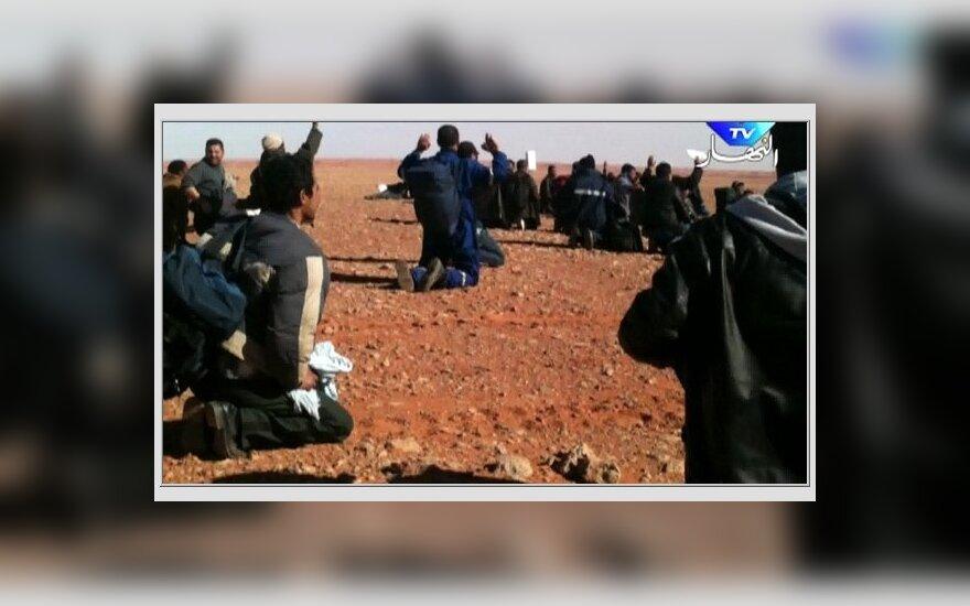Alžyro įkaitų dramoje žuvusiųjų skaičius padidėjo iki 80