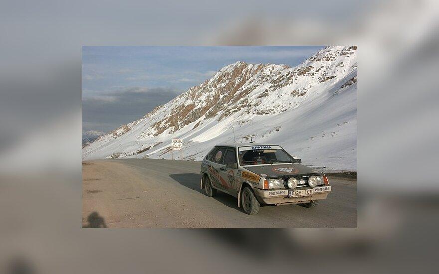 Vitoldo Miliaus ekspedicija. Kirgizijos žiema