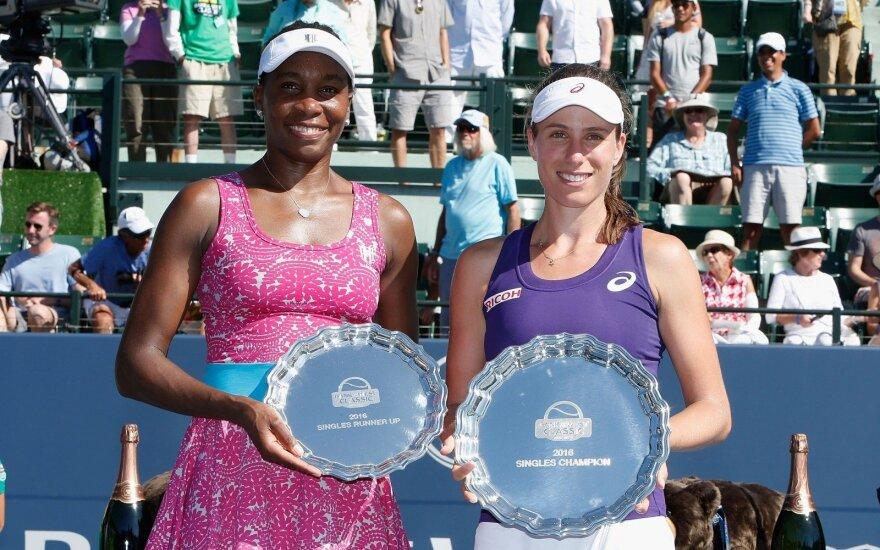 V. Williams nepavyko laimėti 50-ojo karjeroje WTA turnyro
