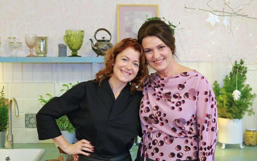Erica Jennings ir Diana Nausėdienė / Foto: Irene Vital Photography