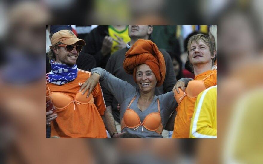 Olandijos rinktinės aistruoliai