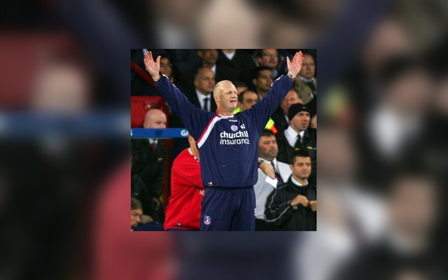 """""""Crystal Palace"""" treneris Iainas Dowie džiaugiasi pergale"""