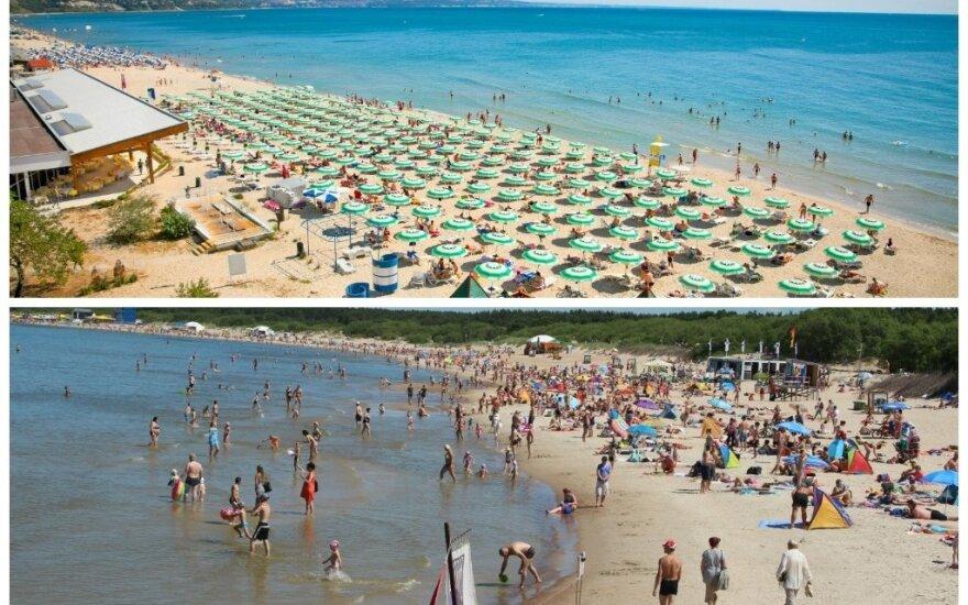Palygino kainas Bulgarijoje ir Palangoje: liūdna