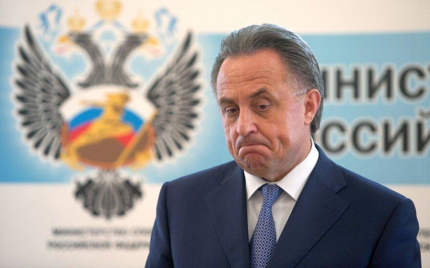 V. Mutko – netikėtas FIFA organizacijos kirtis: pašalino iš rinkimų