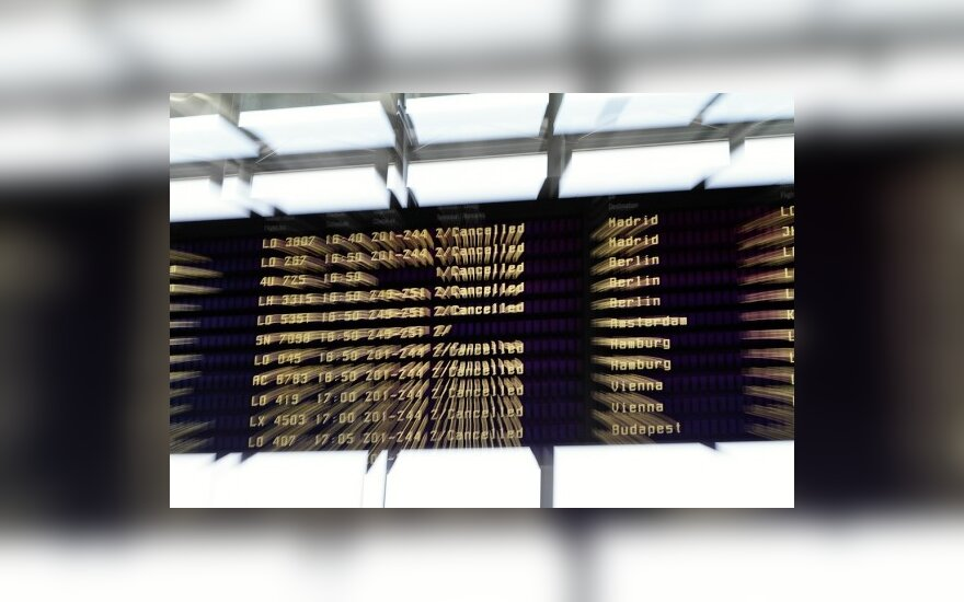 Dėl pelenų uždaromi Ispanijos ir Portugalijos oro uostai