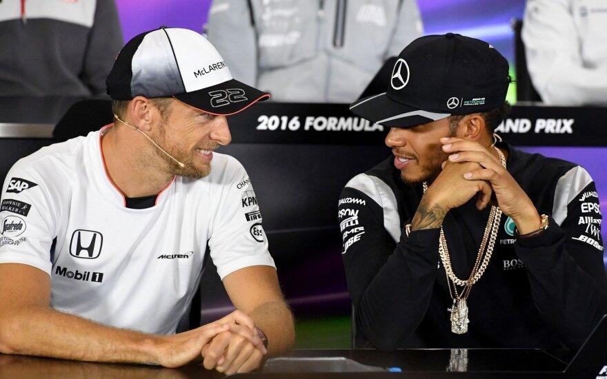 Jensonas Buttonas, Lewisas Hamiltonas
