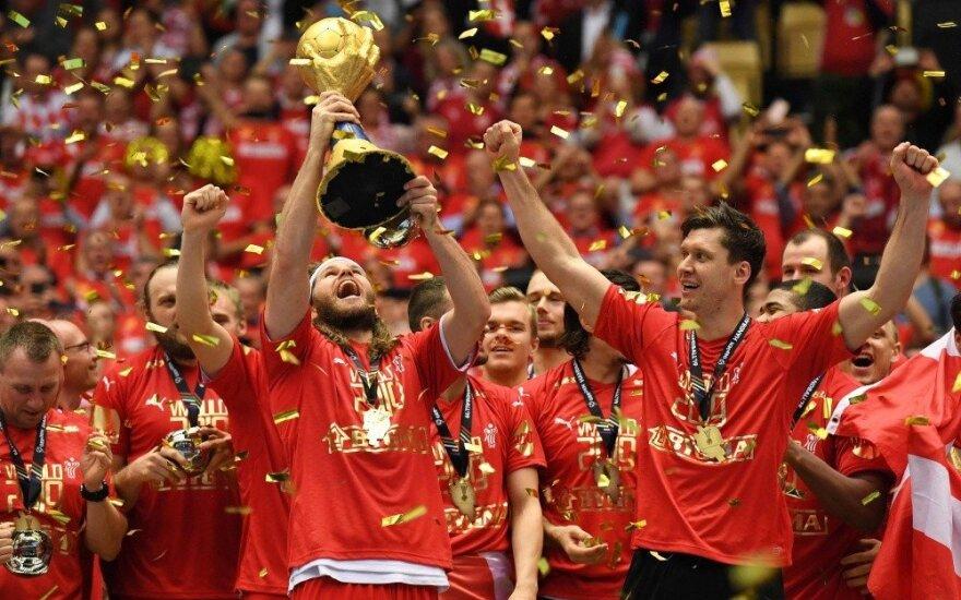 Danai – pasaulio čempionai, prancūzai išplėšė bronzą