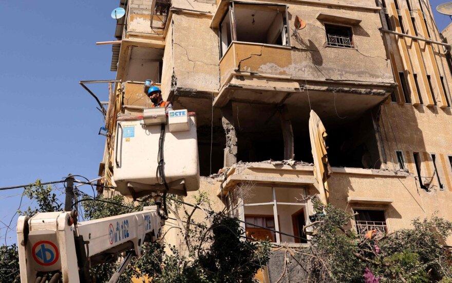 Iš Libano paleistos trys raketos Izraelio link