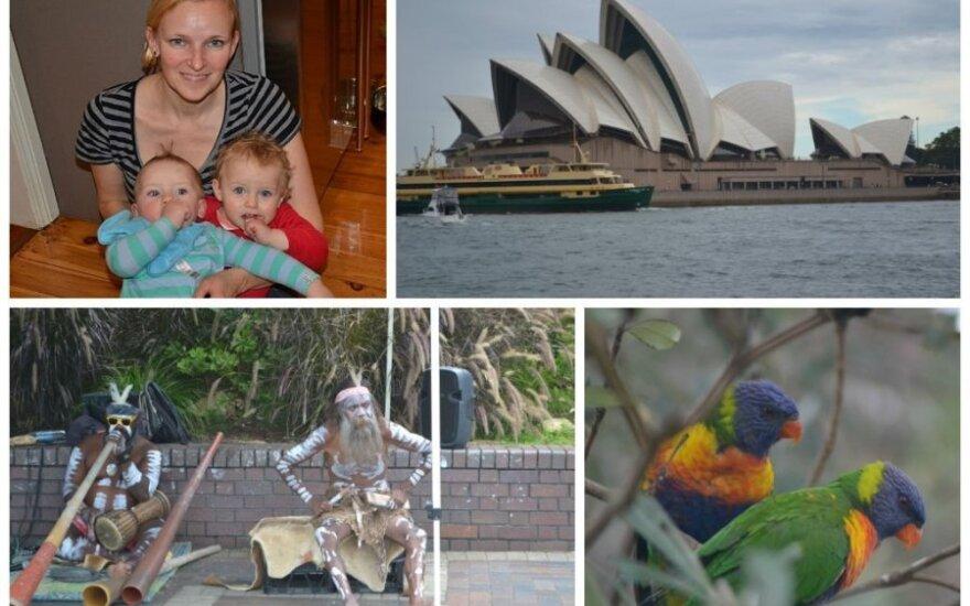 Meilė lietuvę emigrantę iš Anglijos nubloškė į Australiją