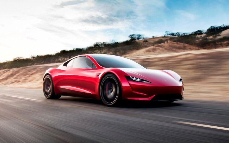 """Tesla"" elektrinis rodsteris"