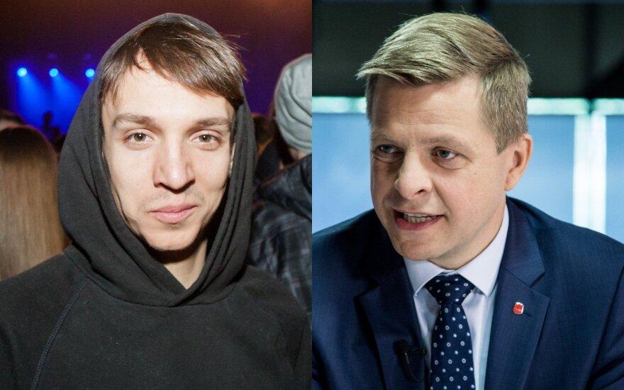 Olegas Šurajevas ir Remigijus Šimašius