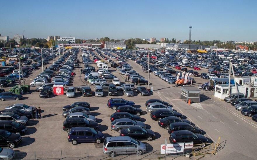 Pareigūnų akiratyje – Kauno automobilių turgus