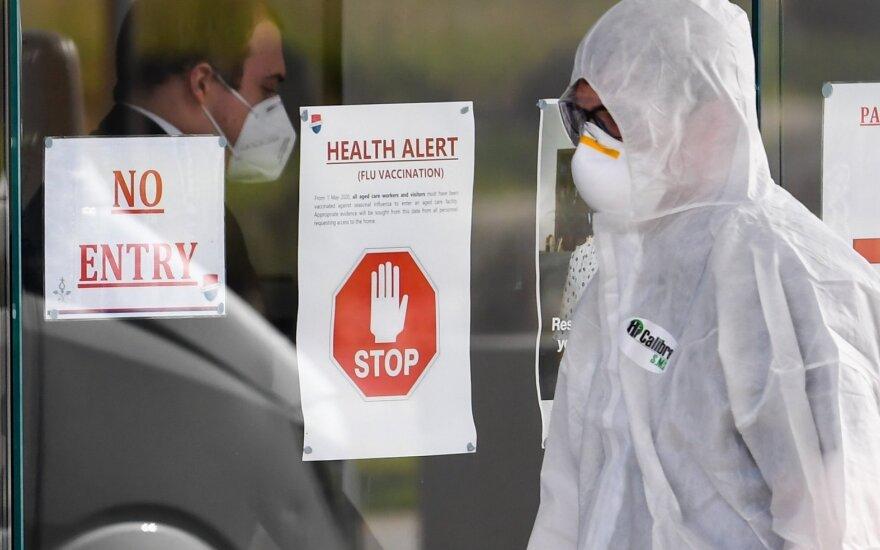 Pasaulyje patvirtinta beveik 19 mln. koronaviruso infekcijos atvejų