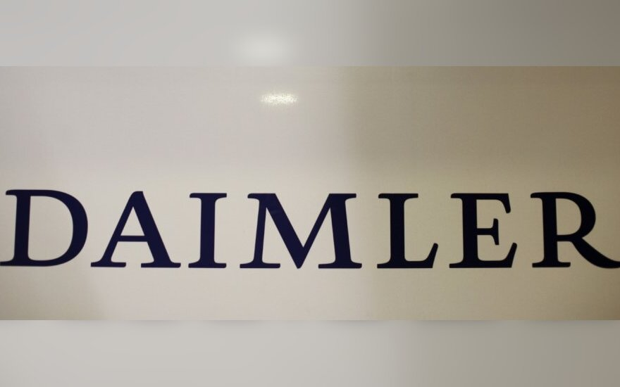 """Daimler"" ir ""Rolls-Royce"" perka kompaniją ""Tognum"""