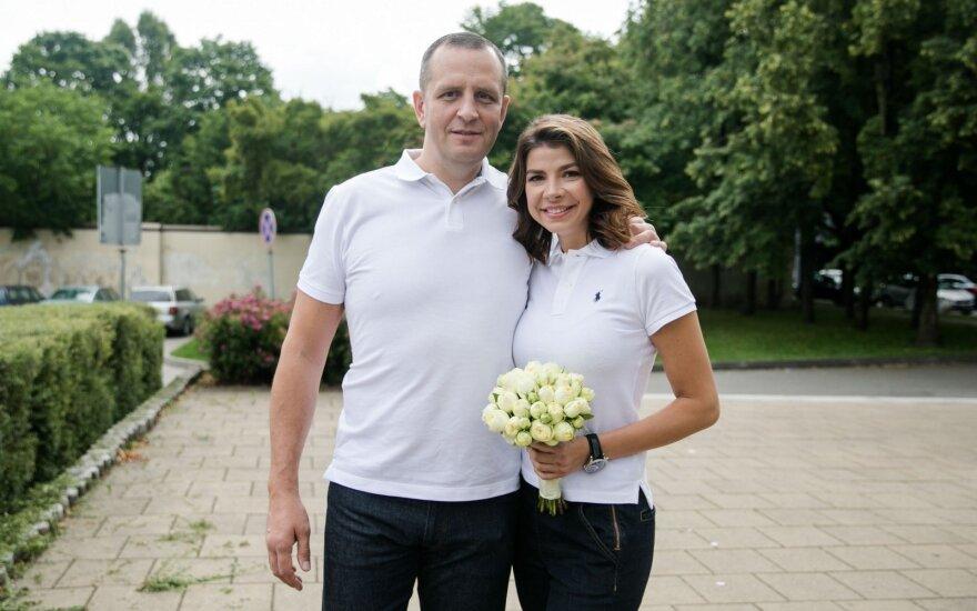 Oficialu: Karolinos Liukaitytės ir Andriaus Čelkio santuoka byra galutinai
