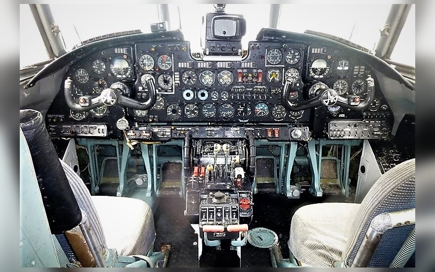 Turto bankas parduoda lėktuvą / Turto banko nuotr.