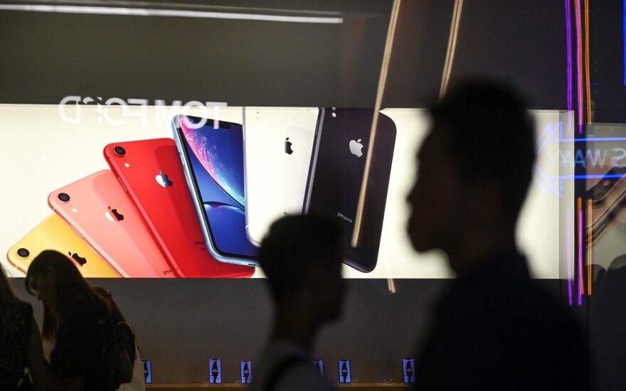 Informacija apie naujuosiuos iPhone