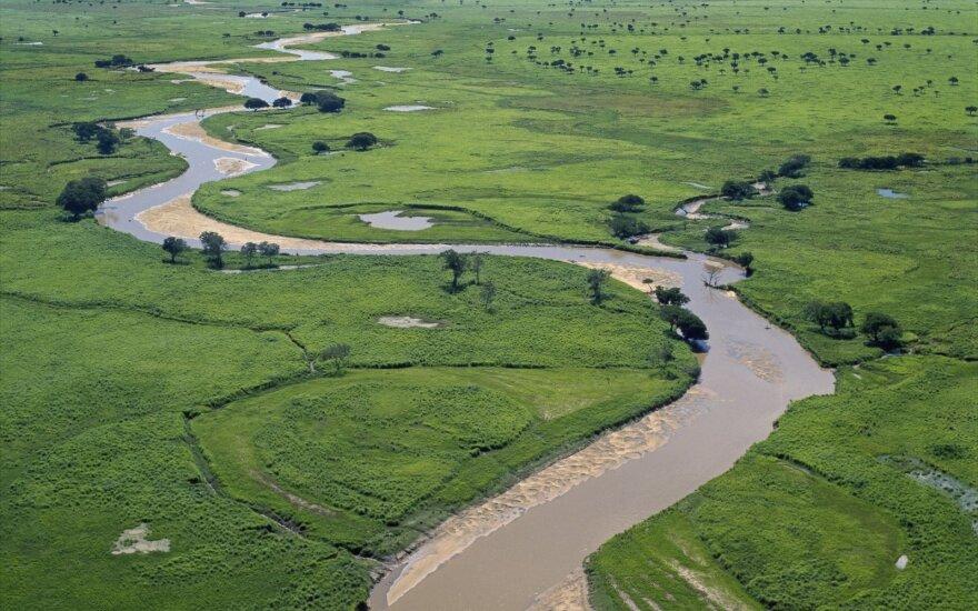Kongo sostinėje smarkios liūtys pareikalavo dešimčių gyvybių
