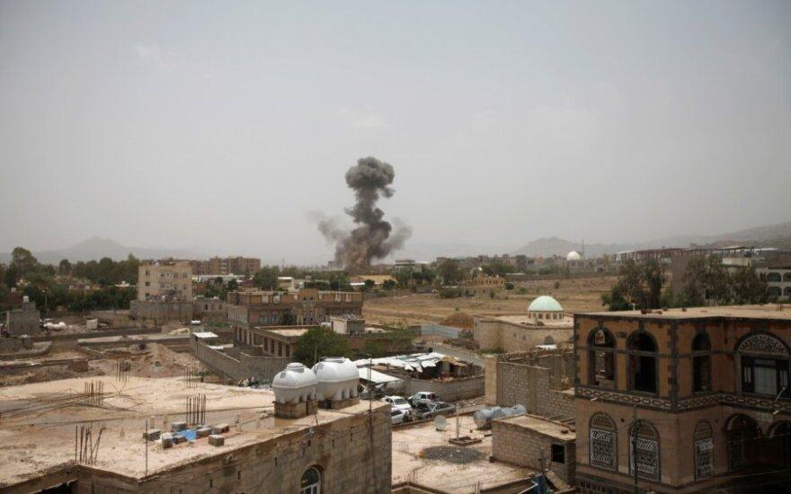 Saudo Arabijos antskrydis Sanoje pražudė 43 civilius