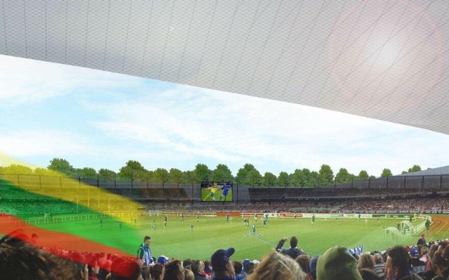 S. Dariaus ir S. Girėno stadioną Kaunas ketina išplėsti iki 20 tūkst. vietų ir įrengti maniežą