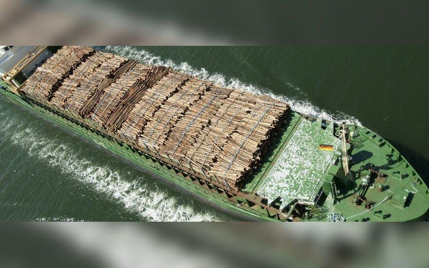 Tarptautinė prekyba mediena