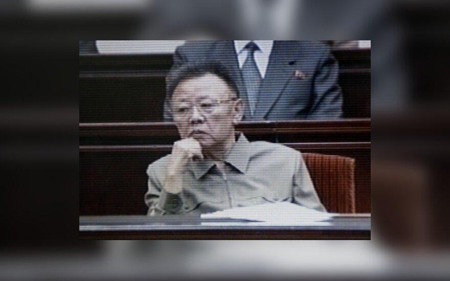 Šiaurės Korėjos lyderis Kim Il-Sungas