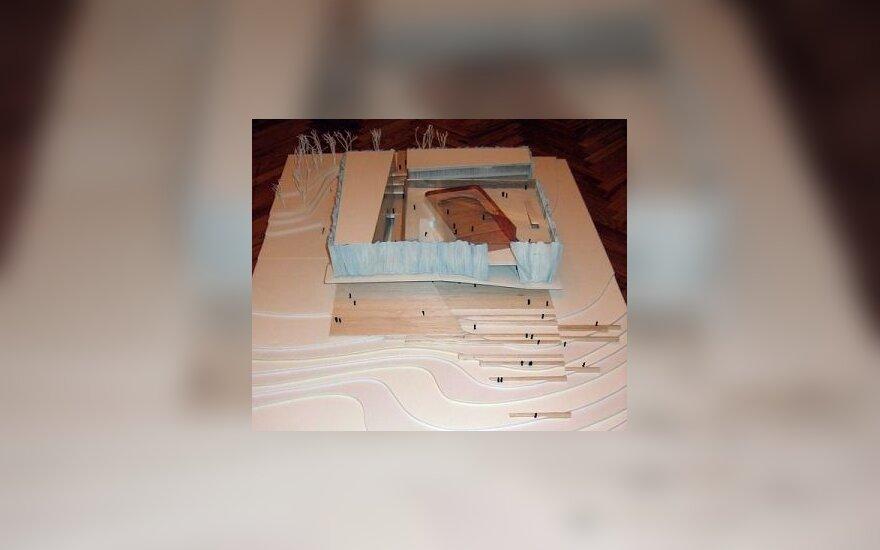Tauro kalno komplekso konkursą laimėjo K.Pempės vadovaujami architektai