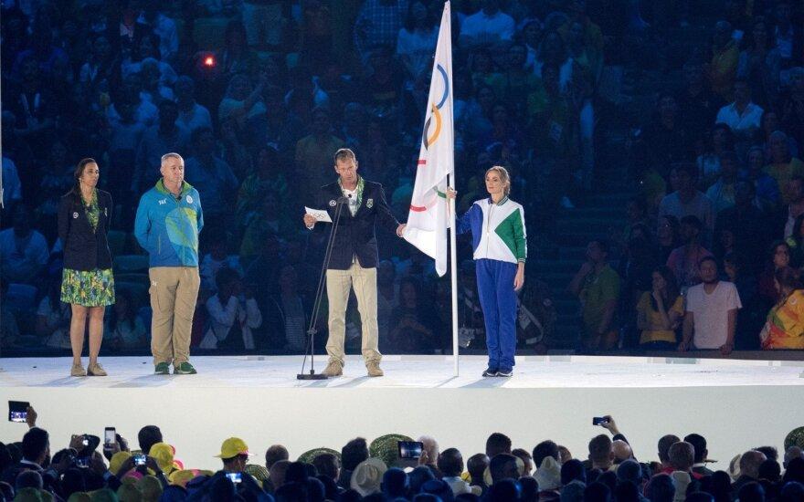 Robertas Scheidtas Rio de Žaneiro olimpinių žaidynių atidarymo ceremonijoje