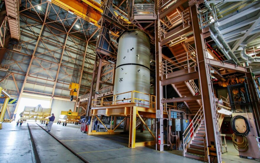 """Naujos kartos raketa-nešėja """"Space Launch System (SLS)"""""""