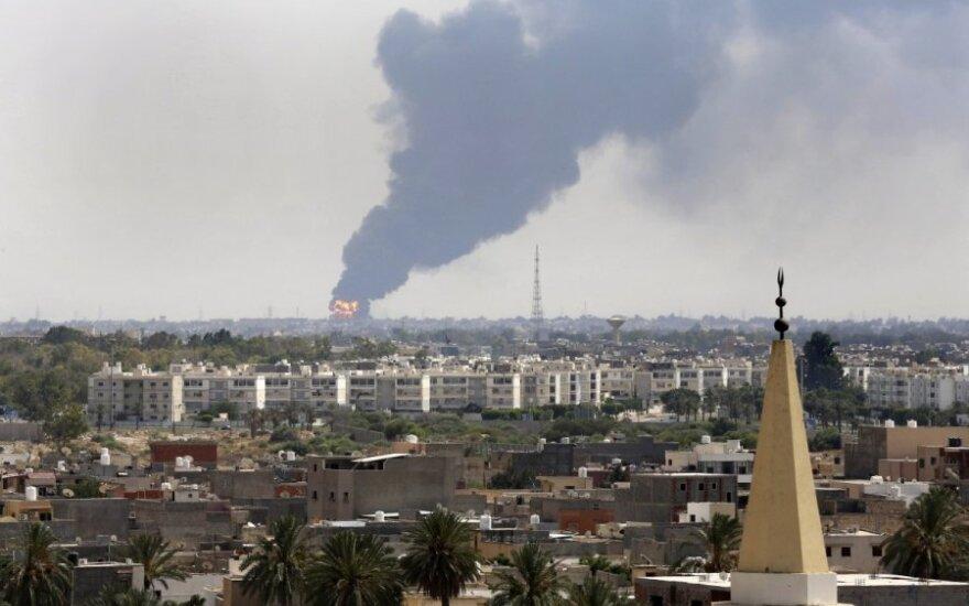 Po susirėmimų Libijoje - šiurpus radinys