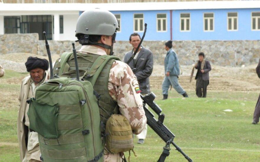 Nauja Lietuvos karių pamaina išvyko į NATO operaciją Afganistane