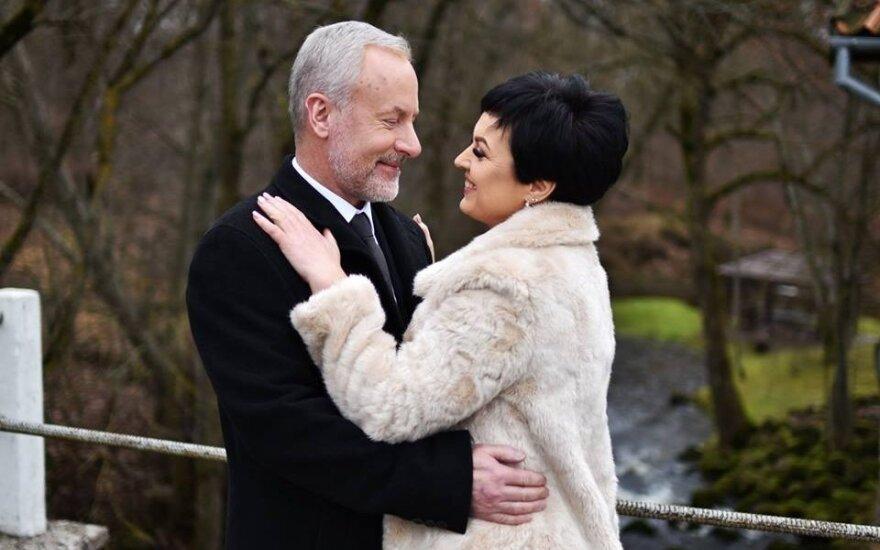 Konservatorius J. Razma vedė savo mylimąją